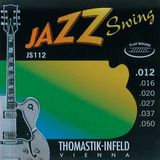 Thomastik E.-Guit.Str.,12-50,Jazz Swing Flat Wound Product Image