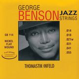 Thomastik Saiten 14-55 George Benson GB 114 Nickel Flat Wound Product Image