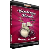 Toontrack EZX Vintage Rock Brush&Sticks Expansion for EZ Drummer /DVD Product Image