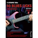 Tunesday E-Gitarre TABs: 50 Blues Licks Buch und MP3 Download Produktbild