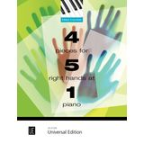 Universal Edition 4 Pieces for 5 Right Hands at 1 Piano Mike Cornick Product Image