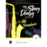 Universal Edition  My Song Diary Product Image