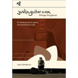 Wise Publications Justinguitar.com Vintage Songbook Guitar Product Image