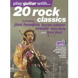 Wise Publications Play guitar with 20 rock class TAB Product Image