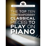 Wise Publications The Top Ten Contemporary Classical Pieces To Play On Piano Product Image
