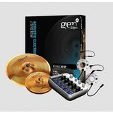 Zildjian GEN16 Buffed Bronze Cymbal Set AE 38, 13 /18 DS Product Image