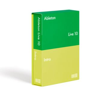 Ableton Live 10 Intro boxed Product Image