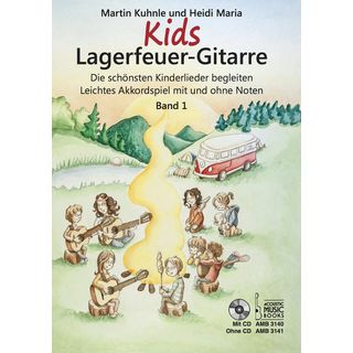 Acoustic Music Books Kids Lagerfeuer-Gitarre 1 Product Image