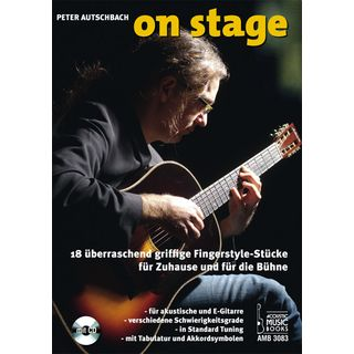Acoustic Music Books On Stage Product Image