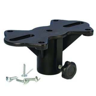 Adam Hall Black Plastic Speaker Flange  Product Image