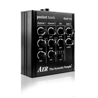 AER Pocket Tools Dual Mix Guitar P reamp   Product Image