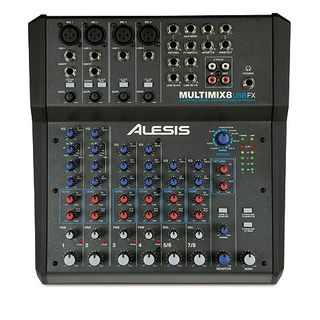Alesis Multimix 8 USB FX 8-Channel Mixer with Effects Produktbillede