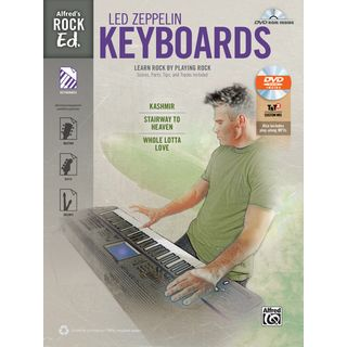 Alfred Music Alfred's Rock Ed.: Led Zeppelin Keyboards Product Image