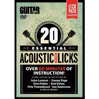 Alfred Music Essential Acoustic Rock Licks DVD Produktbild