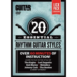 Alfred Music Essential Rhythm Guitar Styles DVD Product Image