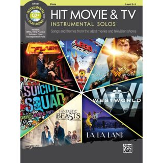 Alfred Music Hit Movie & TV Instrumental Solos - Flute Product Image