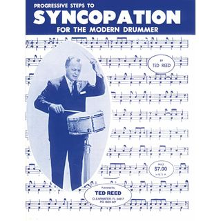 Alfred Music Progressive Steps to Syncopation, Ted Reed, Drums Product Image