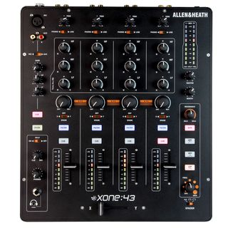 Allen & Heath Xone:43 Analogue DJ Mixer Product Image