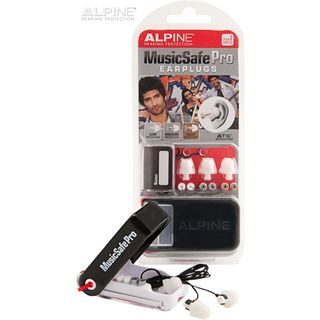 Alpine MusicSafe Pro Ear Protection, White Edition Product Image
