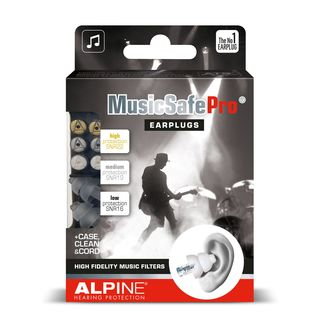 Alpine MusicSafe Pro Hearing Protection (Transparent) Product Image