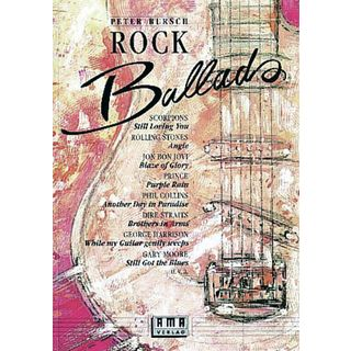 AMA Verlag Rock Ballads Band 1 Song Book-Series Product Image