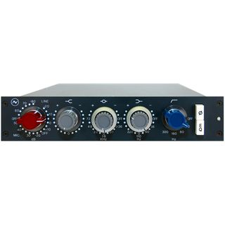 AMS Neve 1073N Mic Preamp/EQ Module Rack & Standalone Product Image
