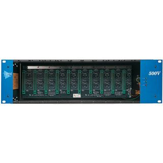 API 500 VPR-Rack + PSU 10 slot Rack 500-Series Product Image