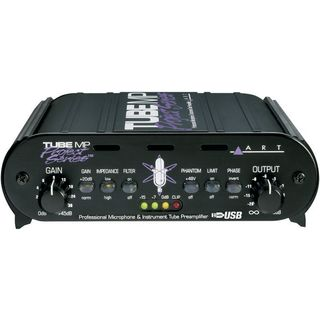 ART Tube MP Project Series USB 1-Ch Tube Mic/LineAmp/DI/USB Product Image