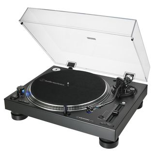 Audio-Technica AT-LP140XP-BK DJ Turntable (Black) Product Image