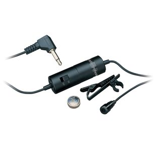 Audio-Technica ATR3350 Omnidirectional Condenser Lavalier Microphone Product Image