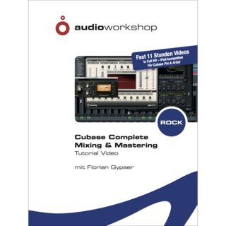 Audio Workshop Mixing & Mastering Rock Cubase Complete Lernsoftware Product Image