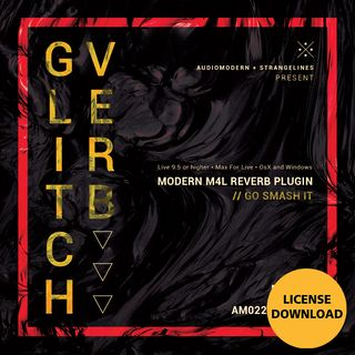 Audiomodern Glitchverb License Code Product Image