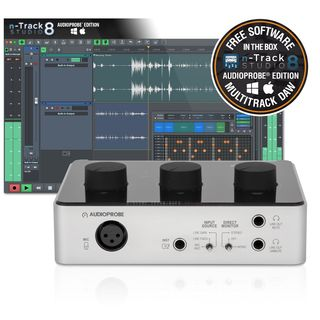 Audioprobe CUE 110 n-Track Bundle USB-Audiointerface Product Image