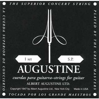 Augustine C.-Guit.Strings, black  Product Image