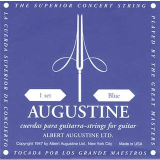 Augustine C.-Guit.Strings,blue  Product Image