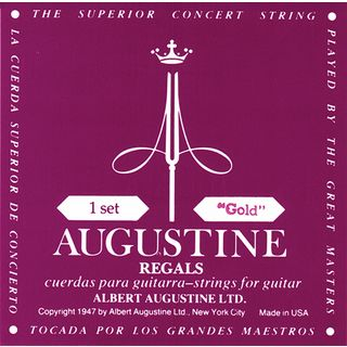 Augustine Classic Regal goud set Light Tension Productafbeelding