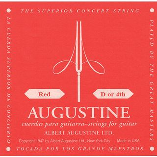 Augustine Single String, 4d red  Product Image
