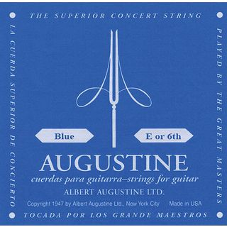 Augustine Single String, 6e blue  Product Image