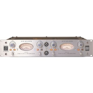 Avalon Design AD 2022 2-ch Mic Preamp Product Image