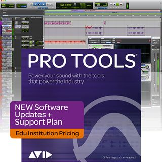 Avid Pro Tools Upgrade/Support Plan Reactivation (EDU) Imagen del producto