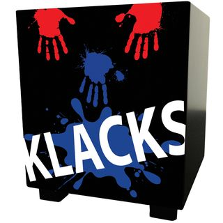 Baff KLACKS! Children's Stool Black Product Image