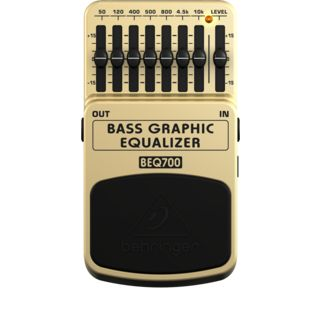 Behringer BEQ700 Bass EQ Pedal    Product Image