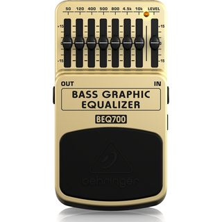 Behringer BEQ700 Bass Graphic EQ (UK) Product Image