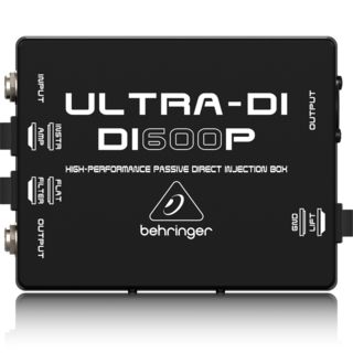 Behringer DI600P ULTRA-DI HighPerformance Passive DI Box Product Image