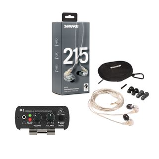 Behringer P1 Powerplay + SE215 - Set Produktbild