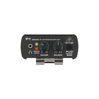 Behringer POWERPLAY P1 In-Ear Monitor Amplifier Product Image