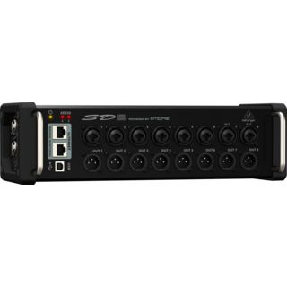 Behringer SD8 Digital Snake 8x8 Stagebox Productafbeelding