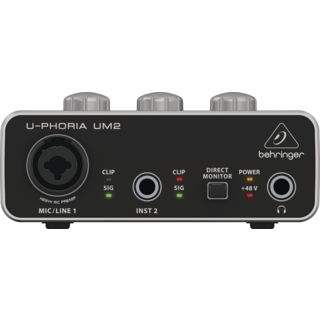 Behringer U-Phoria UM2 USB Audio Interface Product Image