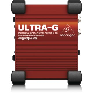 Behringer ULTRA-G GI100 Active DI Box wi th Guitar Cab Simulator   Εικόνα προιόντος