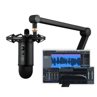 Blue Microphones Yeticaster Studio Broadcast Bundle Product Image